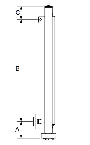Magnetisch pijltoestel 1 aansluiting