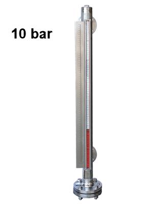 Magnetisch pijltoestel 2 aansluitingen 10 bar