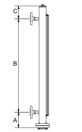 Magnetisch pijltoestel 2 aansluitingen