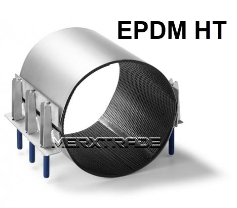 Reparatie koppeling 2 delig EPDM HT