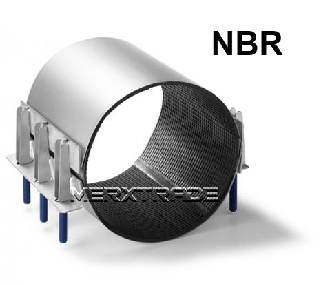Reparatie koppeling 2 delig NBR