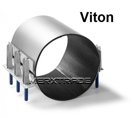 Reparatie koppeling 2 delig Viton