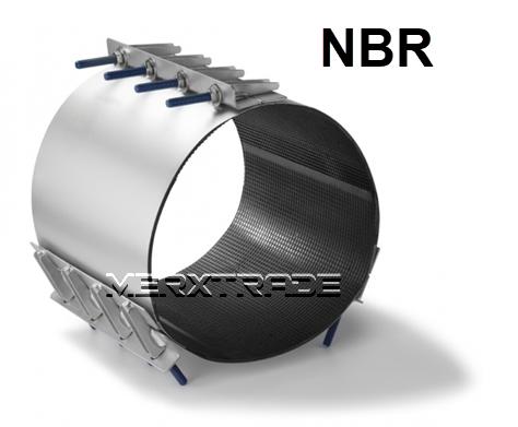 Reparatie koppeling 3 delig NBR