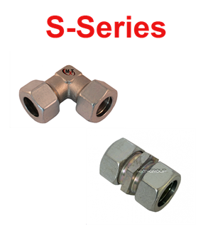 Snijringkoppeling RVS S-series