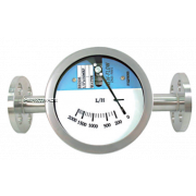Flowmeter flanged Stainless.steel magnetic transmission med=water