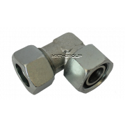 Elbow adjustable with DKO-seal Steel zinc - L series