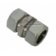 Straight cutting ring fitting stainless steel zinc L series