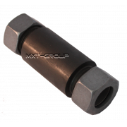 Straight welding bulkhead compression fitting Steel - S series